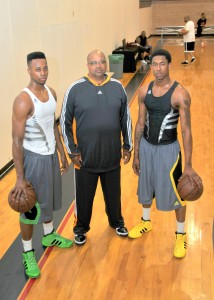 Scotty Hopson, Larry Marshall & MarShon Brooks all rights reserved